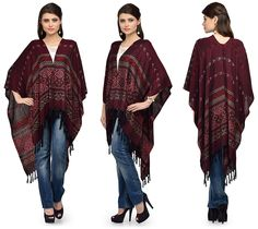 """""""This is ponchos and It's impossible to be unhappy while wearing a poncho!""""."""