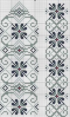 Easiest Crochet Frills Border Ever! Cross Stitch Sampler Patterns, Cross Stitch Borders, Cross Stitch Samplers, Cross Stitch Flowers, Cross Stitch Designs, Cross Stitching, Cross Stitch Embroidery, Embroidery Patterns, Knitting Charts