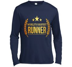 World's Okayest Runner Shirt - PREMIUM Marathon Runner Gift