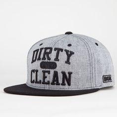DGK Clean Mens Snapback Hat 209376100   Snapbacks   Tillys.com