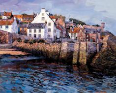 Crail, Fife, Scotland. [Somewhere I wish I'd visited rather than just driven through.]