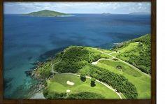 Mahogany Run Golf course on St.Thomas U.S.V.I.