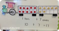 Learning With Mrs. Parker: All Aboard the Number Train!