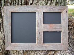 repurposed barn wood signs | Rustic Reclaimed Barnwood Barn Wood Picture Photo Multi Frame 8x10 4x6 ...