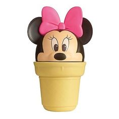 So what flavour would you choose Official Minie Mouse merchandise Shake to make ice-cream and sorbets with Minnie it's so Easy Freezy