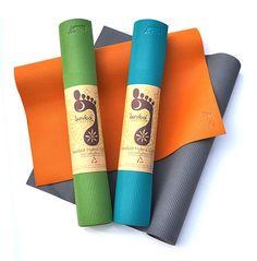 Barefoot Yoga Hybrid Eco-Lite Yogamatte er en miljøvennlig matte. Denne matten er lettere enn tradisjonelle matter, men har samtidig en myk overflate og er perfekt til alle typer øvelser både stående og liggende. Velg en farge som passer deg! Barefoot Yoga Hybrid Eco-Lite    Matten for deg som ønsker en miljøvennlig kvalitetsmatte! Matten er helt fri for phthalater og tungmetaller. Den er produsert uten latex eller andre ...