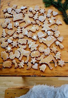 Piece of North: Gingerbread Decorations, Gingerbread Cookies, Cake Cookies, Sugar Cookies, Holidays And Events, Baking, Sweet, Christmas, Crafts