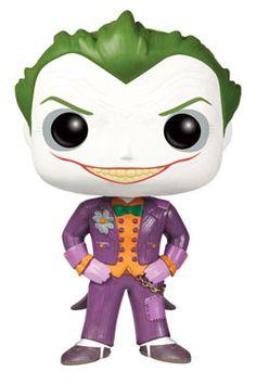 Funko POP Heroes: Arkham Asylum Joker: Batman Arkham Asylum The Joker Pop! Vinyl Figure from Funko! Perfect for any fan of the Batman comics! Collect all of the Arkham Asylum POP figures from Funko! Le Joker Batman, Joker Pop, Funko Pop Batman, I Am Batman, Batman Stuff, Batman Arkham Asylum, Joker Arkham, Figurines Funko Pop, Figurine Pop