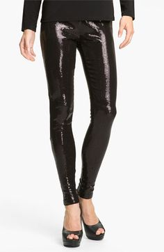 MICHAEL Michael Kors Sequin Leggings available at #Nordstrom