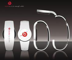 Beats by Dr.Dre concept watch by Alexandre Duhail, via Behance