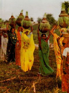 How they carry the baskets on their heads reminds me of African women. It reminds me that we are not as different as we may seem.