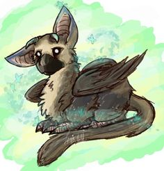 Trico! So adorable! From Last Guardian!! For PS4 Get it now!!!
