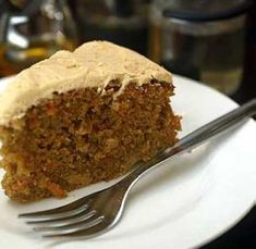 Low Fat Carrot Cake Recipe - The Best I have Tasted - Using Grape Seed Oil Instead of Butter or Margarine