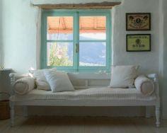 A quiet corner in a Greek home