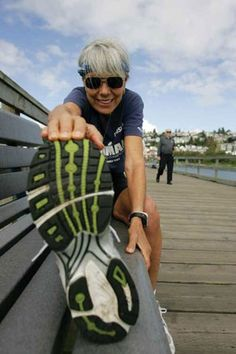 72 year-old Ruth Heidrich is fitter than most of people half her age. She is an eight-time Senior Olympic gold medallist has completed six Ironman triathlons, almost 100 marathons and won over 700 medals from around the world.