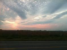 Sunrise in Stuttgart, Arkansas