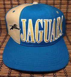 Jacksonville Jaguars Hat Vintage 1994 NFL BANNED LOGO Wool Cap Starter  Snapback  Cap Jacksonville Jaguars af9982af4