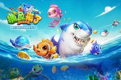 Water Splash Game, Character Illustration, Illustration Art, Tiny Fish, Game Logo, Game Ui, Gaming Banner, Splash Screen, Water Art
