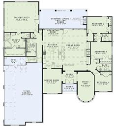 Open Concept House Plans open floor ranch house plans adorable open concept house plans 4 Bedroom 3 Baths Like Open Concept And Fire Pit Outside I Would Get Open Concept House Plansopen