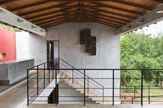 Bay House, Tangalle, Sri Lanka Sleeps 8 | The Modern House Masonry Paint, Beach Villa, Villas, Sri Lanka, Cinnamon, Living Spaces, Sunday, Barn, Stairs