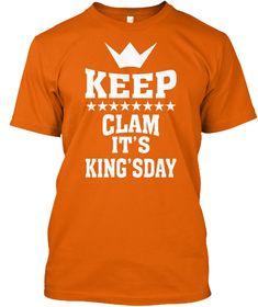 Koningsdag 2018 Orange T-Shirt Front
