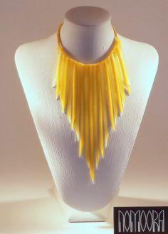 Noodles summer colors.Handmade, silicone necklace by Petros Mantouvalos for Nomoora Jewellery.Shop on line @ www.nomoora.com