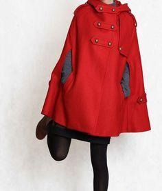 * Temporada: otoño, invierno  * Material: 100% lana    TALLA XS (Alemania 30-32, EE.UU. S 0-2, Reino Unido, 6-8, 36-38 italiano, francés 32-34)  busto