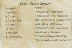 Lekker Maklike Melktert Custard Recipes, Tart Recipes, Sweet Recipes, Baking Recipes, Dessert Recipes, Oven Recipes, South African Desserts, South African Dishes, South African Recipes