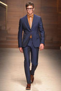 Salvatore Ferragamo Men's RTW Fall 2014 - Slideshow - Runway, Fashion Week, Fashion Shows, Reviews and Fashion Images - WWD.com