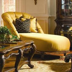 A comfy chair on pinterest chaise lounges recliners and for Aico chaise lounge