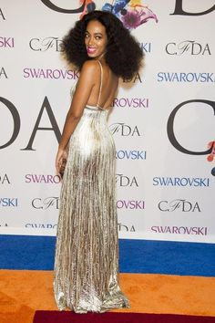 Solange Knowles | All The Looks From The CFDA Awards