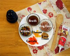 Dog Kong Recipes. To keep a confined or crated dog entertained.