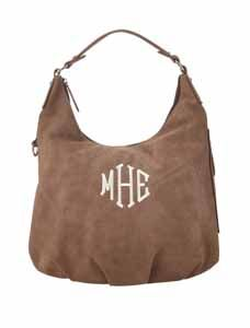 Find the Signature Hobo in Mushroom Suede on page 6 in the Fall & Winter 2014-2015 Stylebook!   www.myinitials-inc.com/mandyh