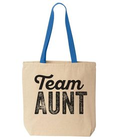 31e22998d5a4 Team Aunt Canvas Tote. Reusable Eco Totes Bag. Wedding. Announcement. Funny  Gift. Canvas Tote.
