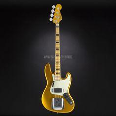 Fender 1975 Jazz Bass Journeyman Relic Frost Gold, #R24880