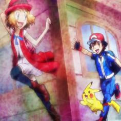 """La descripción del primero que lo pineo lo dice todo así que: """"Amourshipping let's face it Serena is the best thing to ever happen to Ash, Ash is the best thing to ever happen to Serena. They compliment each other well. Pokemon Ash And Serena, Ash Pokemon, Pokemon Ships, Serena Xy, Photo Kawaii, Ashes Love, Disney Movies To Watch, Gotta Catch Them All, I Choose You"""