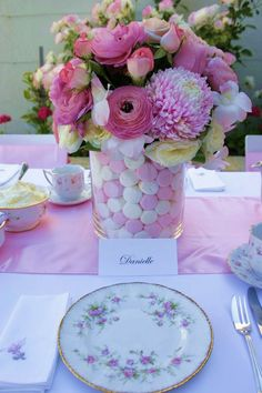Children's Tea Party Flowers | Antiquitea - Vintage High Teas