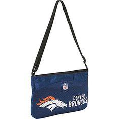 Littlearth NFL Jersey Mini Purse/Denver Broncos