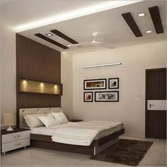 4 Sublime Diy Ideas: False Ceiling Ideas For Restaurant false ceiling bathroom laundry rooms.False Ceiling Bedroom Feature Walls false ceiling ideas for showroom.False Ceiling With Fan Dining Rooms. Simple False Ceiling Design, House Ceiling Design, Ceiling Design Living Room, Bedroom False Ceiling Design, False Ceiling Living Room, Bedroom Bed Design, Bedroom Ceiling, Modern Bedroom Design, Modern Interior Design