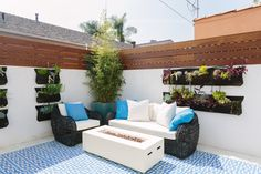 Magnificent Moroccan-Style Bungalow in Miracle Mile! Outdoor Sofa, Outdoor Furniture Sets, Outdoor Decor, Moroccan Style, Bungalow, Real Estate, Patio, House, Fencing