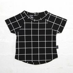 This Kipp Kids Baby and kids T-Shirt is the coolest print for summer is now available in black! Made of Cotton, Elastane and available in sizes newborn t Little Fashion, Simple Dresses, 6 Years, Fashion Forward, Baby Kids, Dressing, Tees, Mens Tops, Cotton