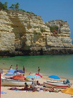 Praia Srª da Rocha  Algarve  Portugal
