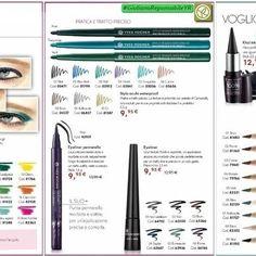 💚 Sguardo Colorato e Profondo 💚  #Matita Colore Vegetale, #Eyekiner Pennarello, #Khol Intenso.  Tutto per un'Applicazione…