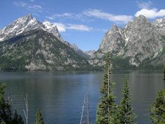 Jenny Lake Photo - Grand Teton National Park, WY (Would love to go back there again).