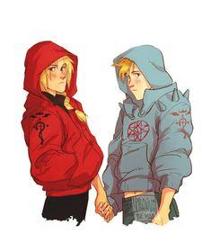 Ed and Al #FMA by Johanna the Mad