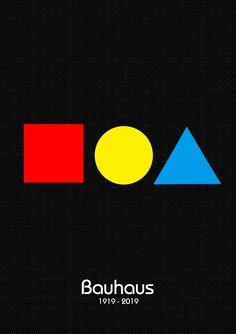 100 years influencing the world Graphic Design Magazine, Magazine Design, Retro Graphic Design, Graphic Design Inspiration, Bauhaus Logo, Design Bauhaus, Bauhaus Art, Poster Design Layout, Creative Poster Design