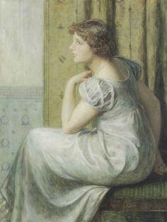 Nicolaas van der Waay - Jonge Vrouw in Empiretoilet