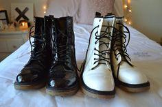 combat boots. ♡