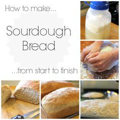 Sourdough Starter and Bread Recipe « Nancherrow Nancherrow