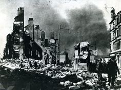 belfast bombed by germany photos   Ww2 German Bombers In The Blitz